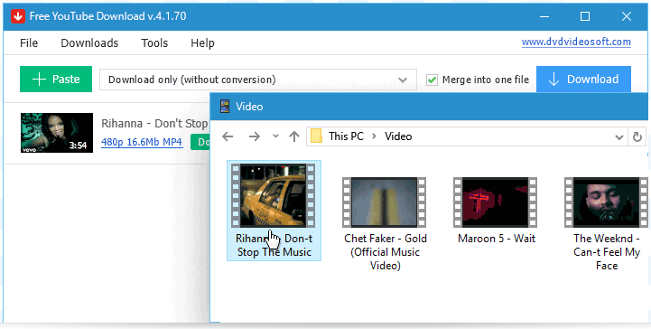 How to convert YouTube videos to MP4 files