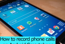 how to record phone call on android
