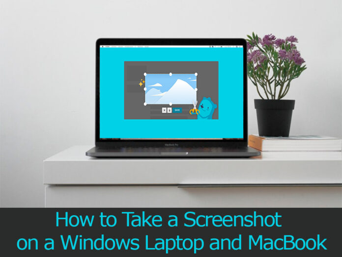 how to take a screenshot on a laptop