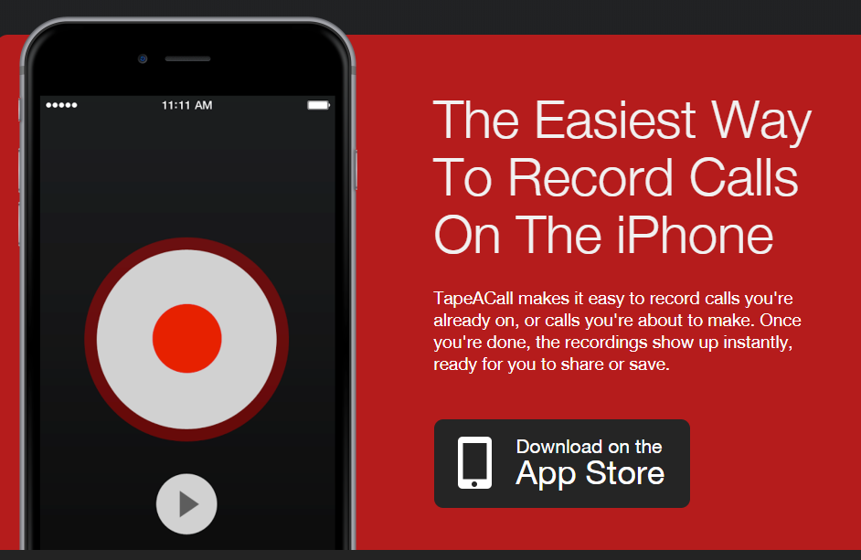 record a call on iphone