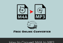how to convert m4a to mp3