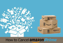 how to cancel amazon prime free trial