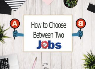 how to choose between two jobs