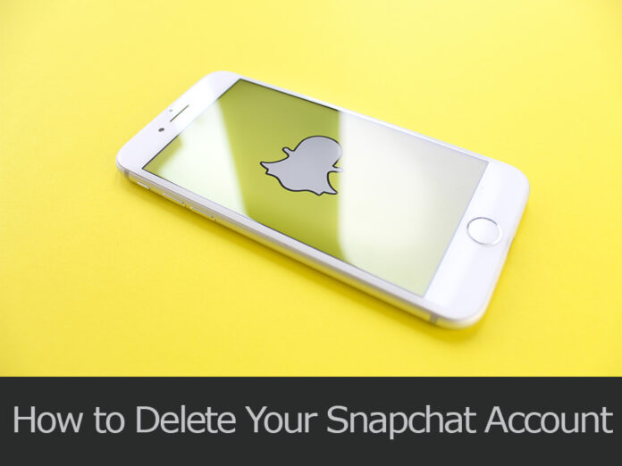 TechSaaz - how to delete your snapchat account