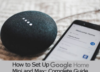how to set up google home mini