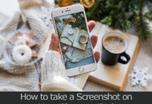 TechSaaz - how to take a screenshot on iphone