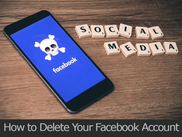 TechSaaz - how to delete your facebook account