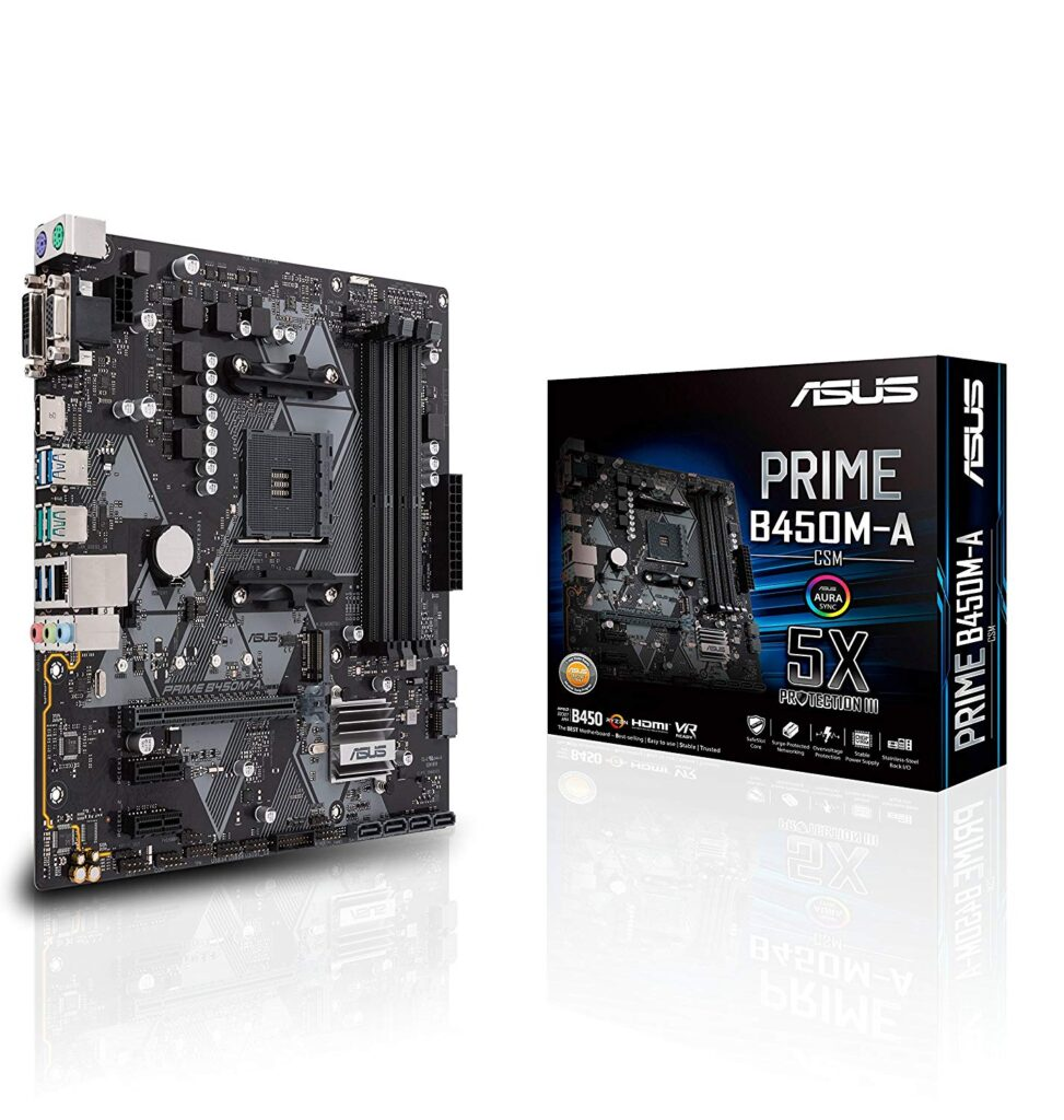 The Motherboard: ASUS Prime B450M-A