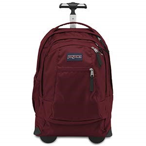 JanSport Driver wheeled laptop backpack for college students