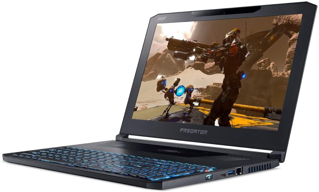Acer Predator Triton 300 best laptop for gaming and work