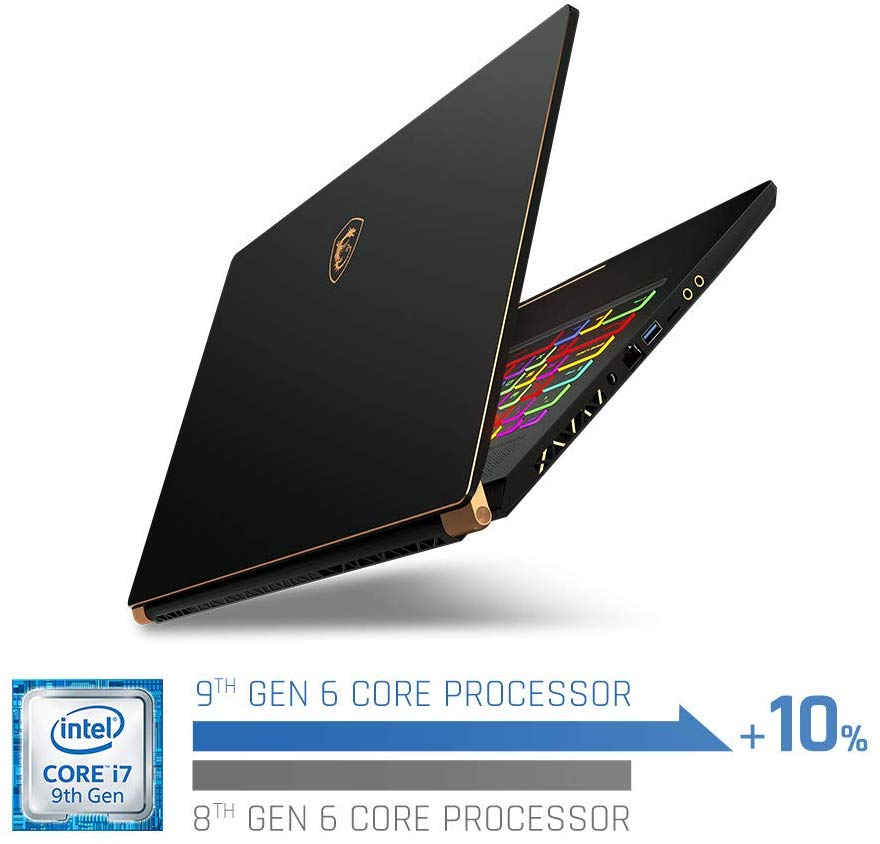 MSI GS75 Stealth 8SG best gaming laptop for college