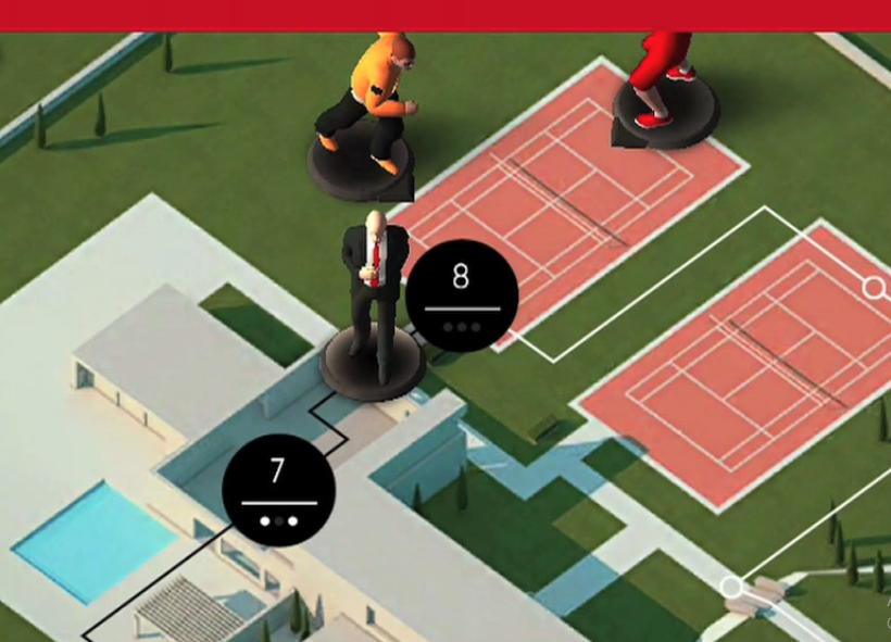 Hitman Go iphone game