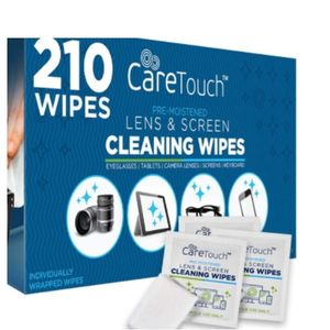 Wrapped Care Touch Lens Cleaning Wipes